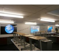 LED light boxes for school science lab