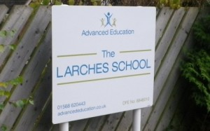 Outdoor School Signage