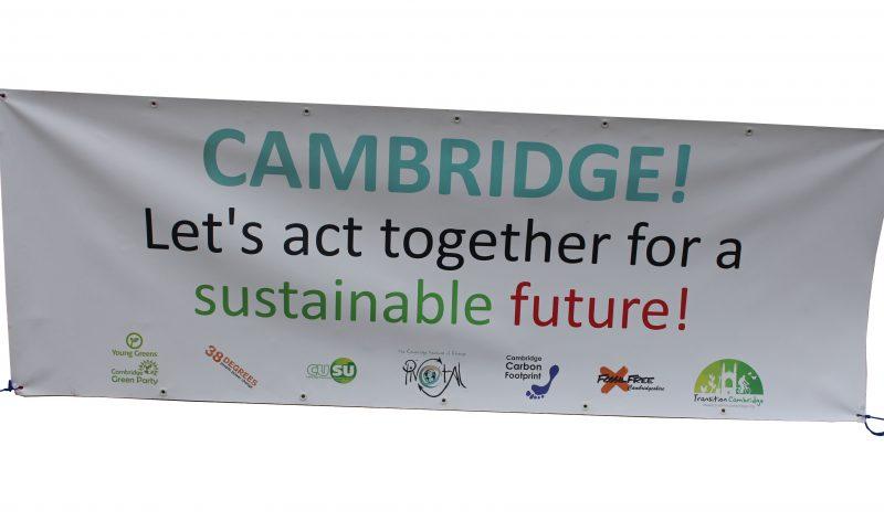 Cambridge Climate Picnic Biodegradable