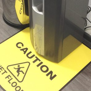 non-slip laminate sticker