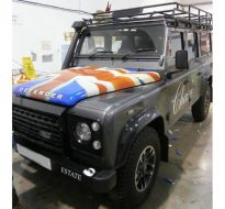 bonnet union jack wrap