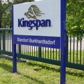 3D signage – Kingspan