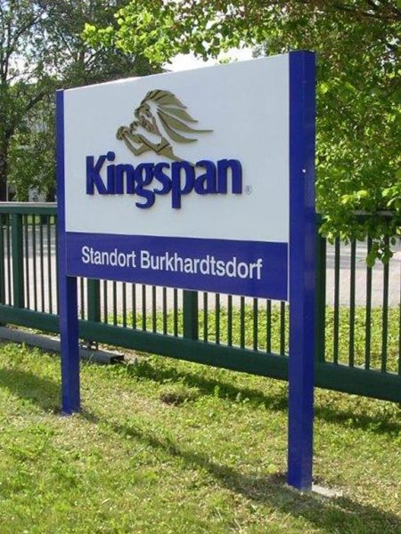 3D signage - Kingspan