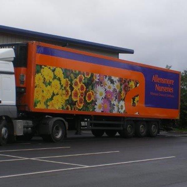 Allensmore HGV lorry livery