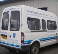 Herefordshire & Ludlow College vehicle livery
