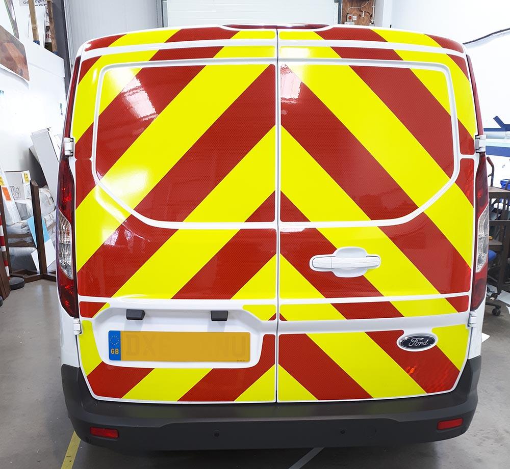 chapter 8 reflectives vehicle signage