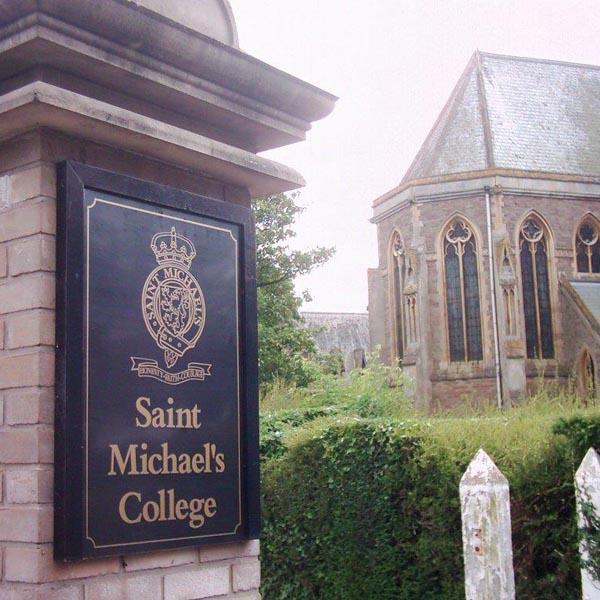 St Michael vandal resistant signage