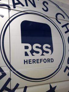 Van wrap - RSS Hereford