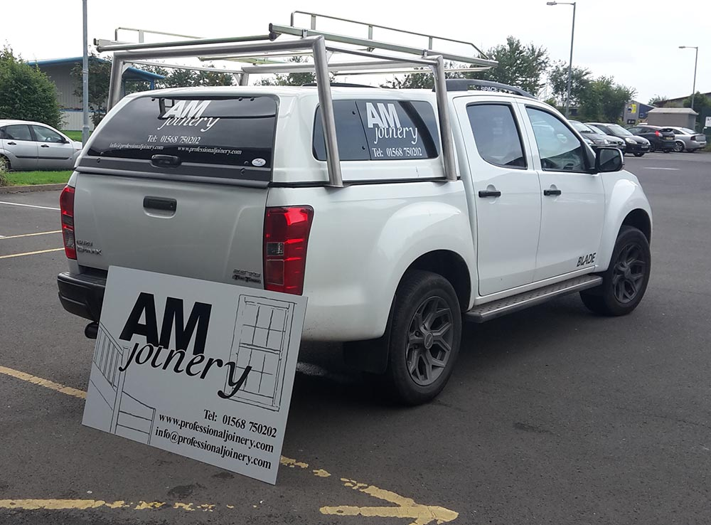 vehicle branding and signage