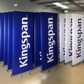 corporate banner ups