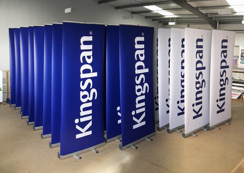 Kingspan banner ups